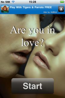 Bist Du verliebt