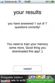 Gedächtnis-Trainer