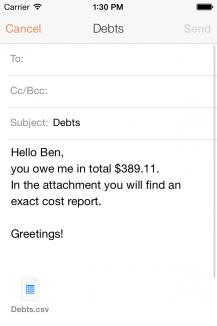Schulden merken free