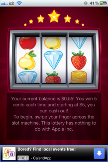 slot machine xcode